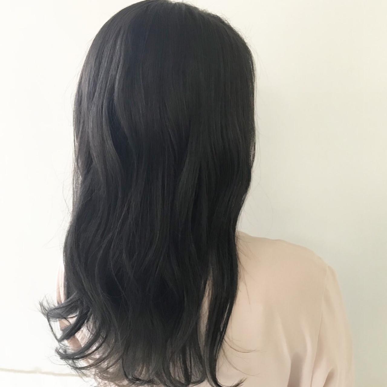 ロング ウェーブ オフィス 簡単ヘアアレンジ ヘアスタイルや髪型の写真・画像 | 新谷 朋宏 / Free hairstylist shinya