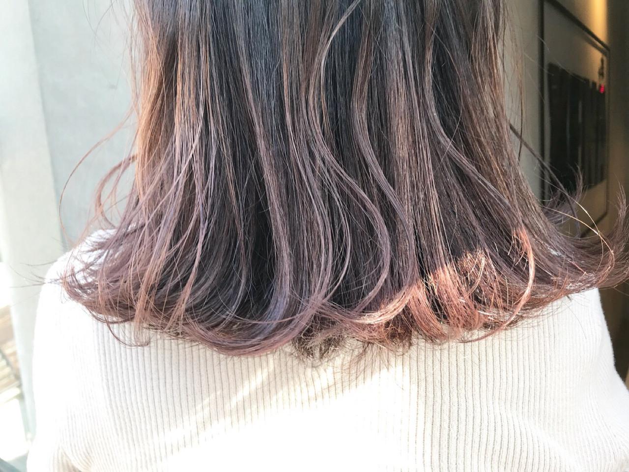 ロブ ワンカール ミディアム グレー ヘアスタイルや髪型の写真・画像 | miya/@1031miya / フリーランス(XENA)