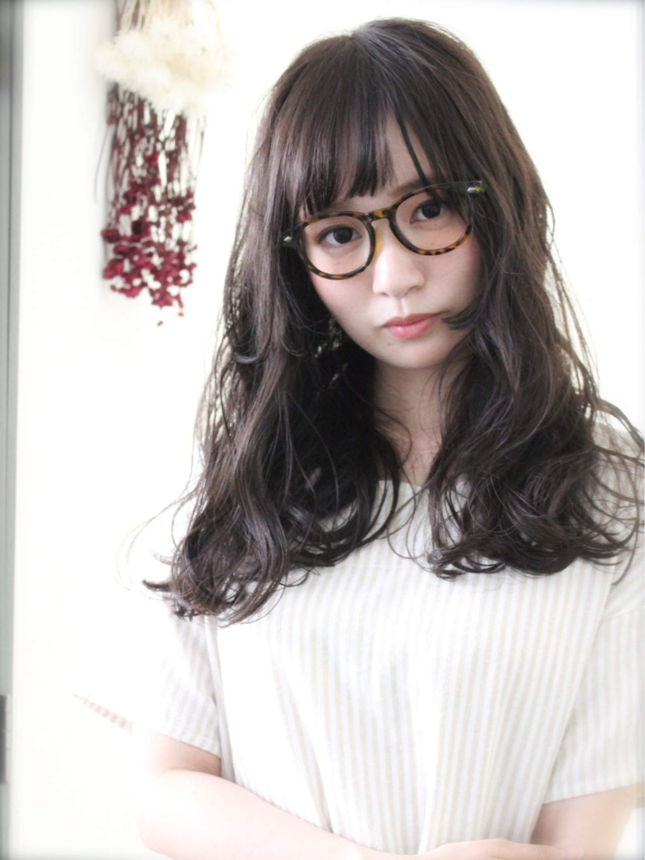 ガーリー 大人かわいい アッシュベージュ 外国人風 ヘアスタイルや髪型の写真・画像
