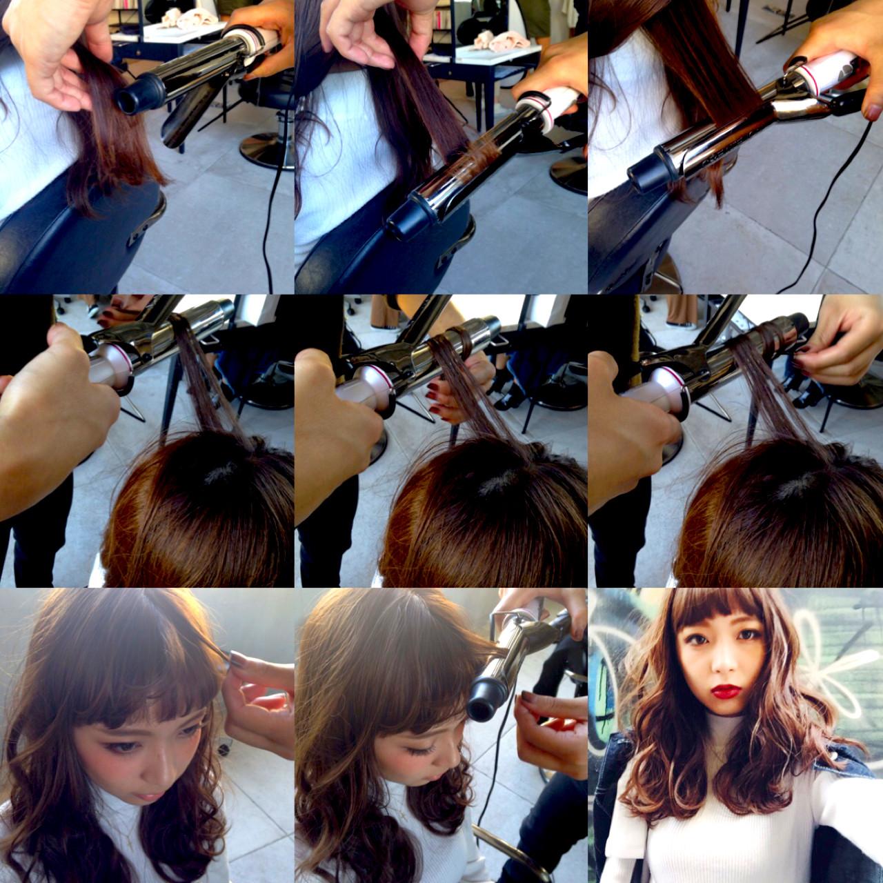 ストリート セミロング 暗髪 モード ヘアスタイルや髪型の写真・画像   Nobu / ALBUM