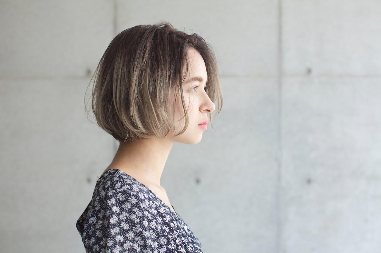 ハイライト 外国人風カラー ゆるふわ 秋 ヘアスタイルや髪型の写真・画像