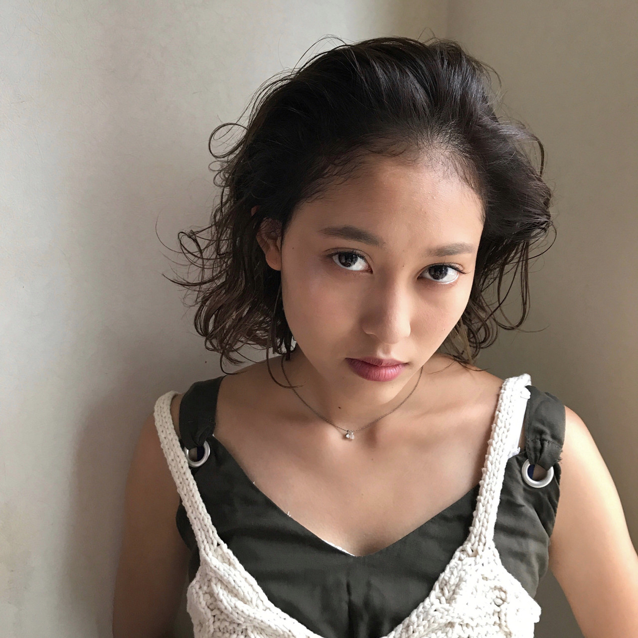 オールバック ボブ 大人女子 ナチュラル ヘアスタイルや髪型の写真・画像 | 吉田将大 / chillo