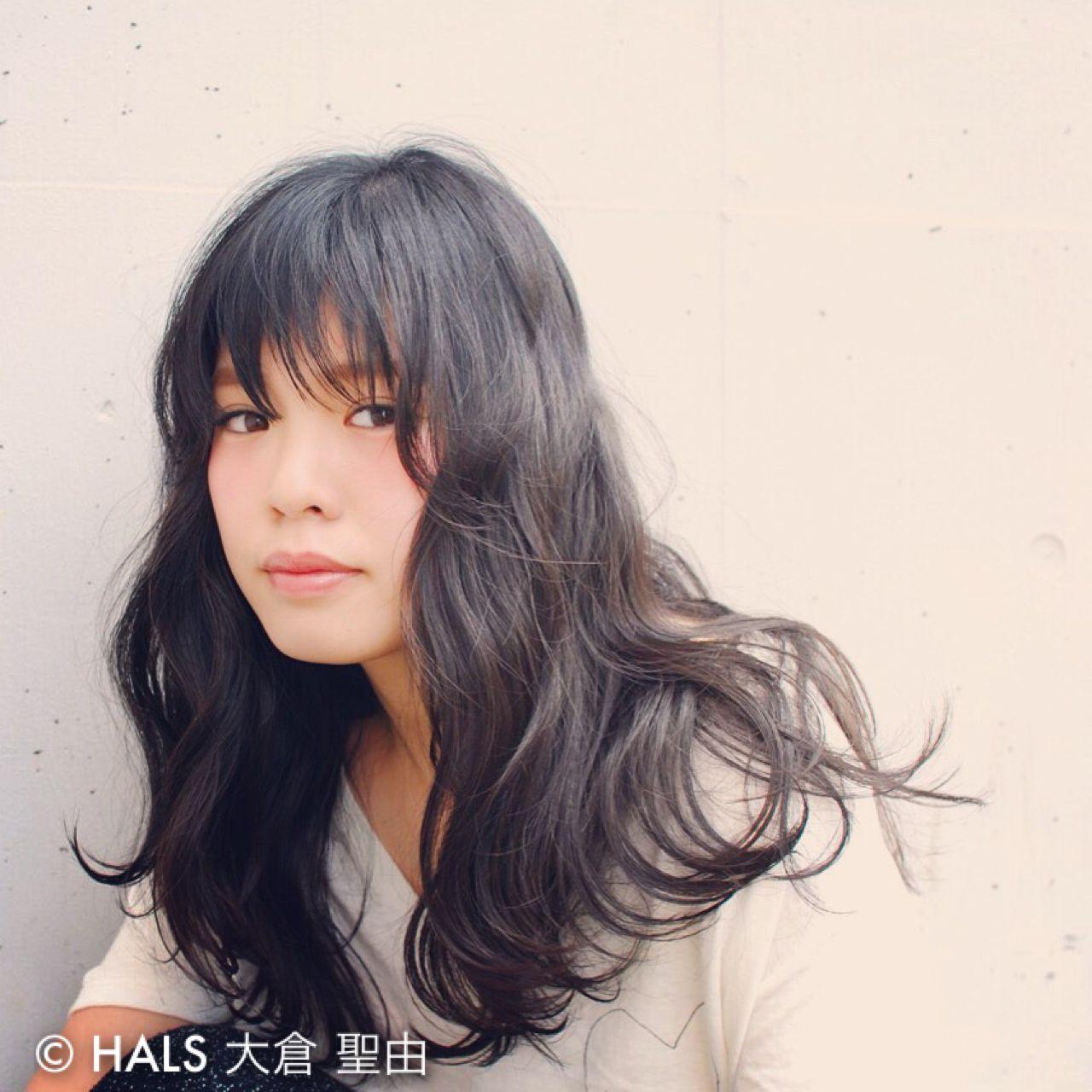 ブラウンベージュ 卵型 ウェットヘア ナチュラル ヘアスタイルや髪型の写真・画像 | 大倉 聖由 / OFF.HAIRSHOP