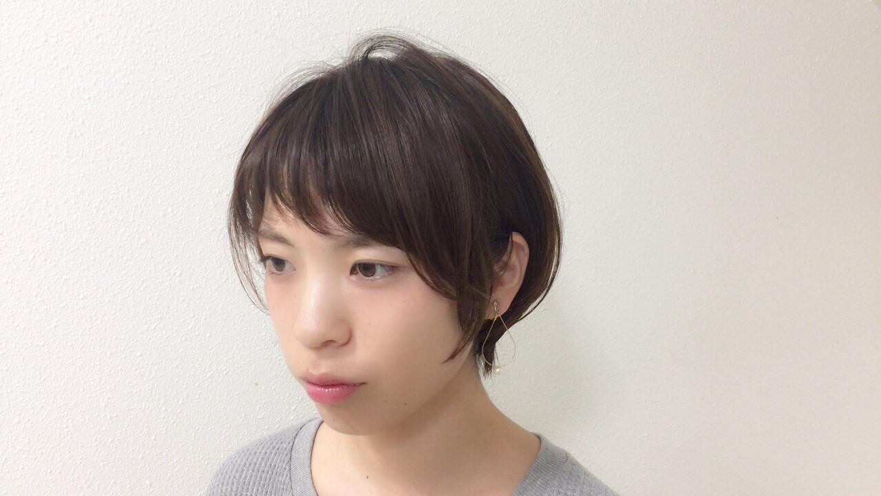 大人かわいい スポーツ 小顔 似合わせ ヘアスタイルや髪型の写真・画像 | Taniguchi Yukiko / IRODORI hair design
