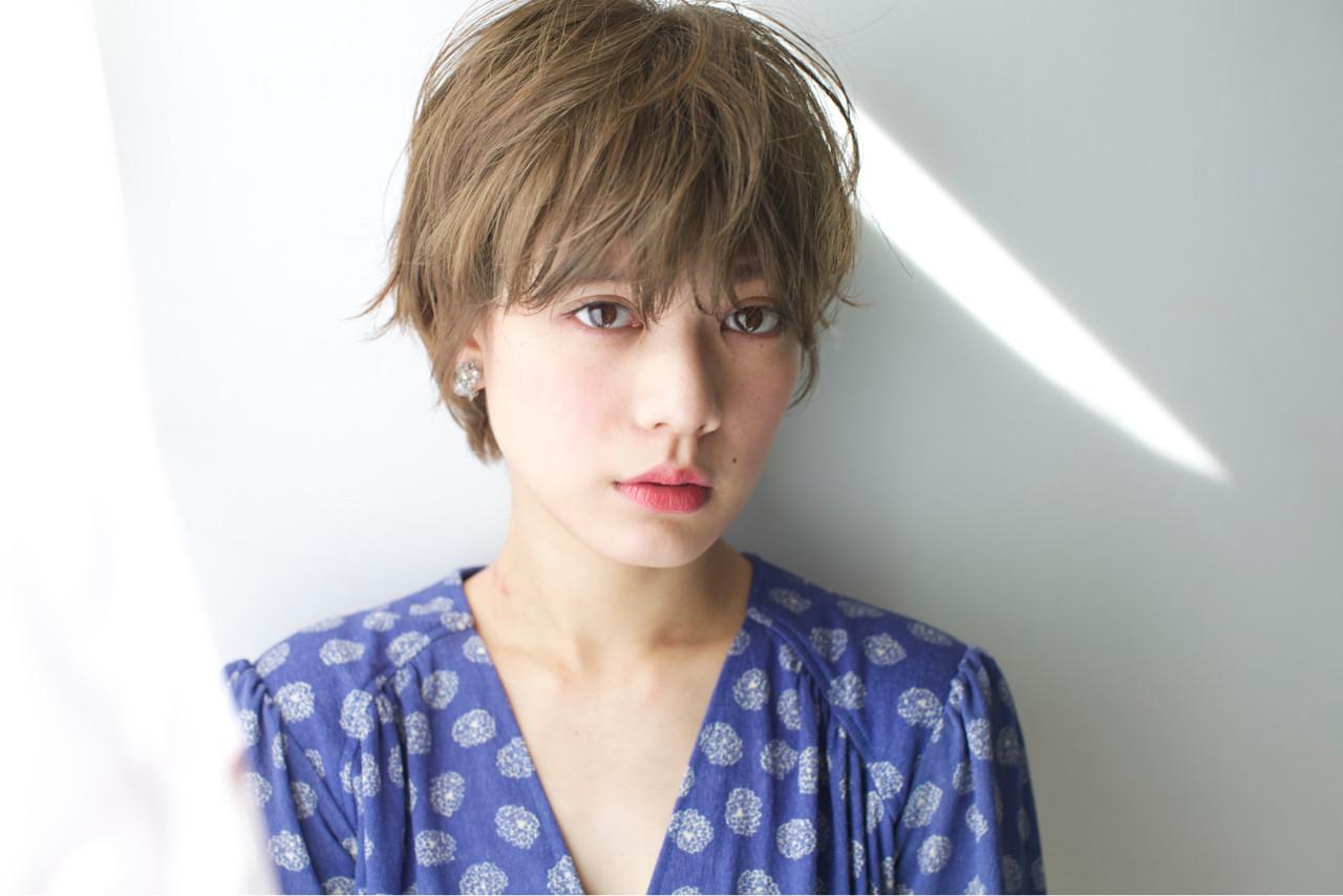 大人女子 小顔 ニュアンス ナチュラル ヘアスタイルや髪型の写真・画像 | 石川 瑠利子 /