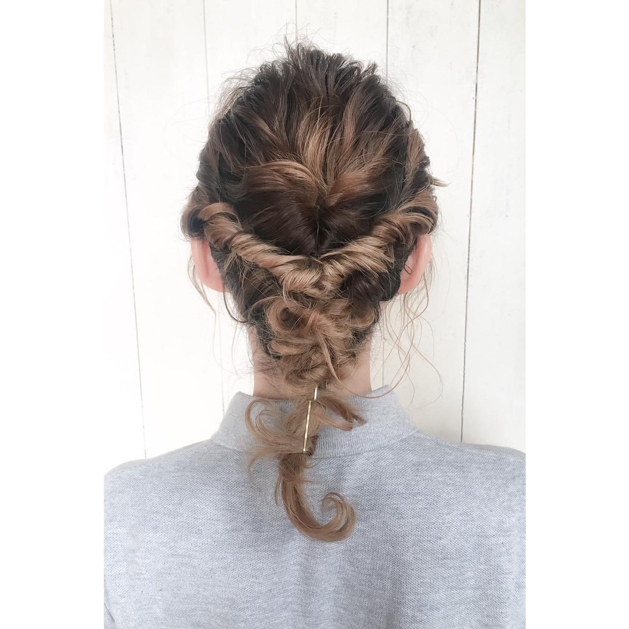 グラデーションカラー 外国人風 ミディアム ショート ヘアスタイルや髪型の写真・画像