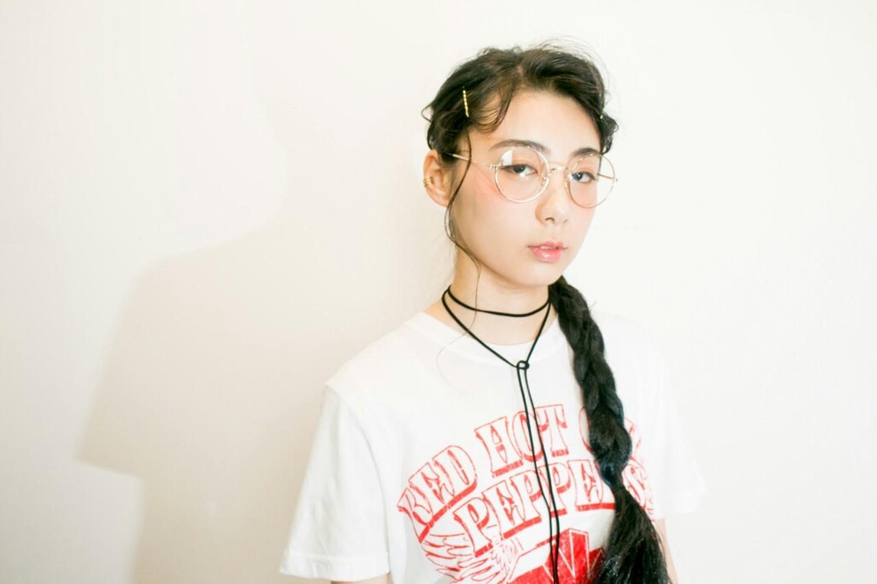 レディース 簡単ヘアアレンジ 夏 ショート ヘアスタイルや髪型の写真・画像