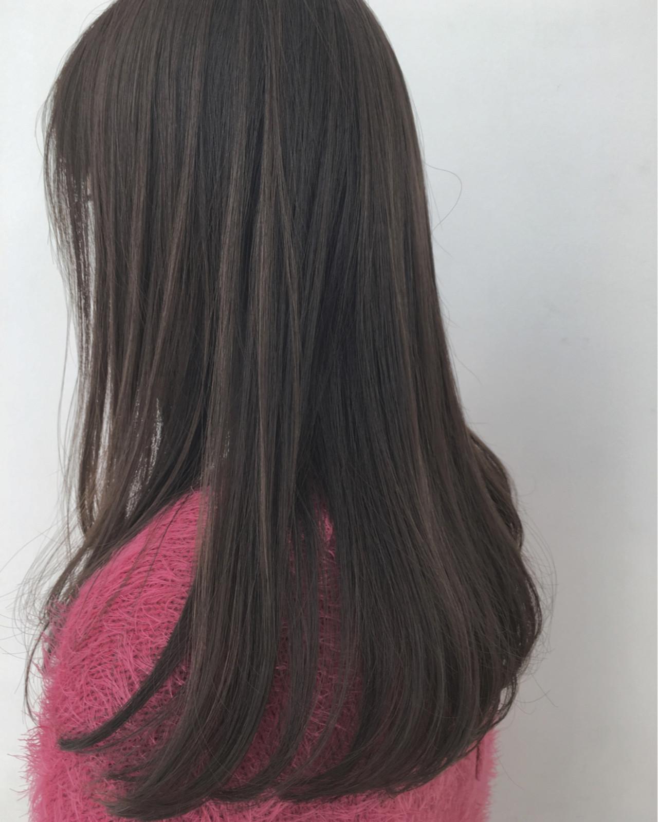 ガーリー フェミニン 外国人風 ハイライト ヘアスタイルや髪型の写真・画像