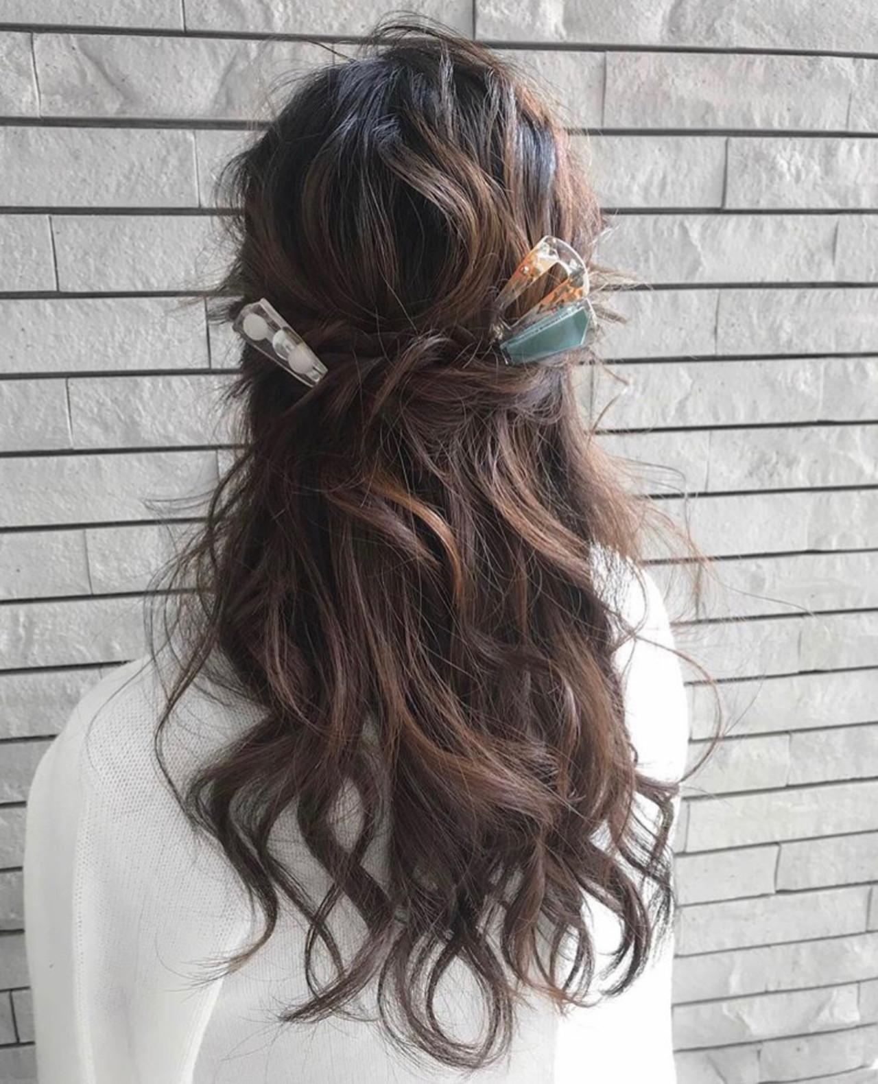 結婚式 簡単ヘアアレンジ 成人式 ナチュラル ヘアスタイルや髪型の写真・画像 | 三木 奨太 / hair set salon  IRIS