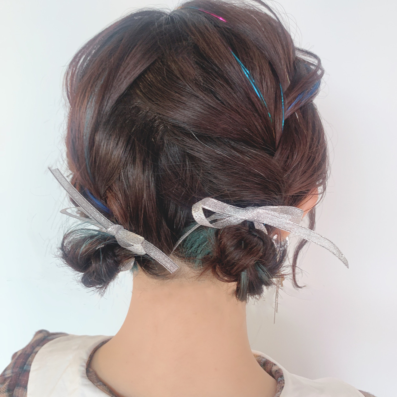 結婚式ヘアアレンジ ヘアアレンジ 簡単ヘアアレンジ デート ヘアスタイルや髪型の写真・画像 | 川原梨央 / モリオフロムロンドン