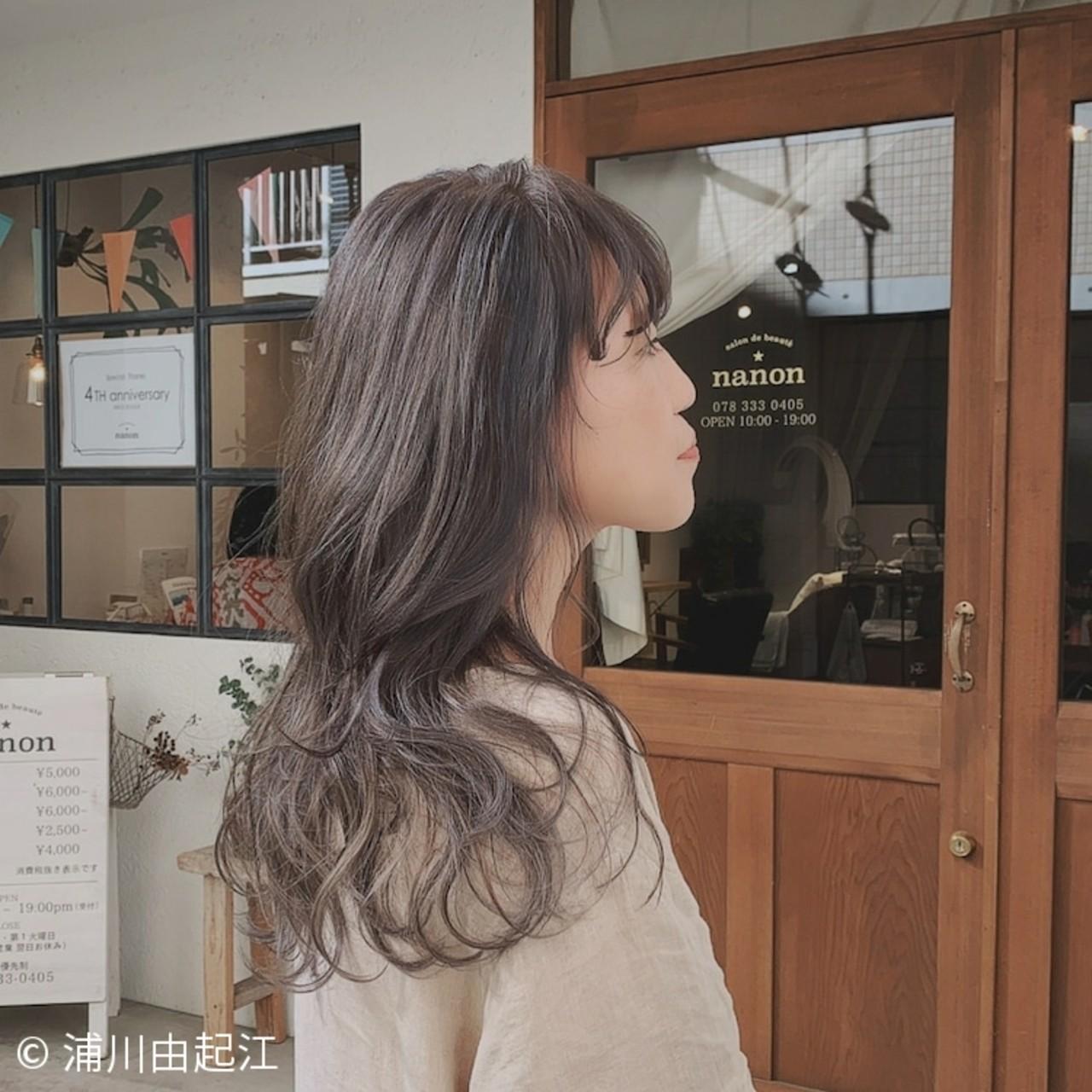 大人かわいい ハイライト デート エレガント ヘアスタイルや髪型の写真・画像