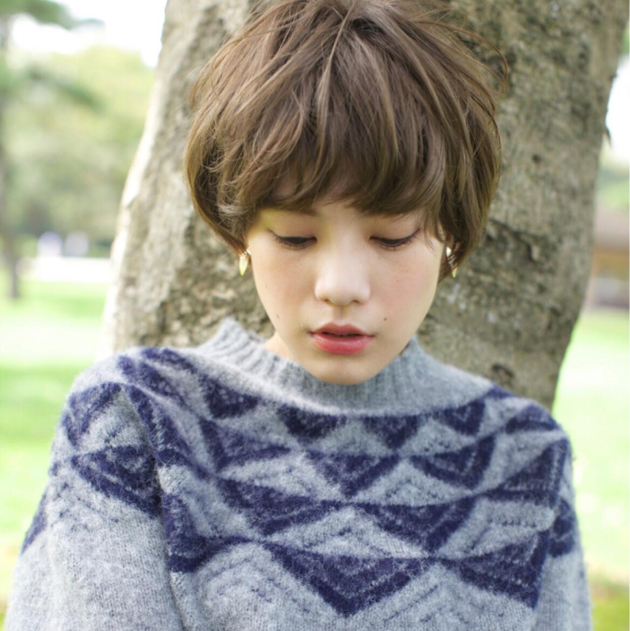 女度を上げるショートのヘアスタイルが可愛すぎる♡ 石川 瑠利子