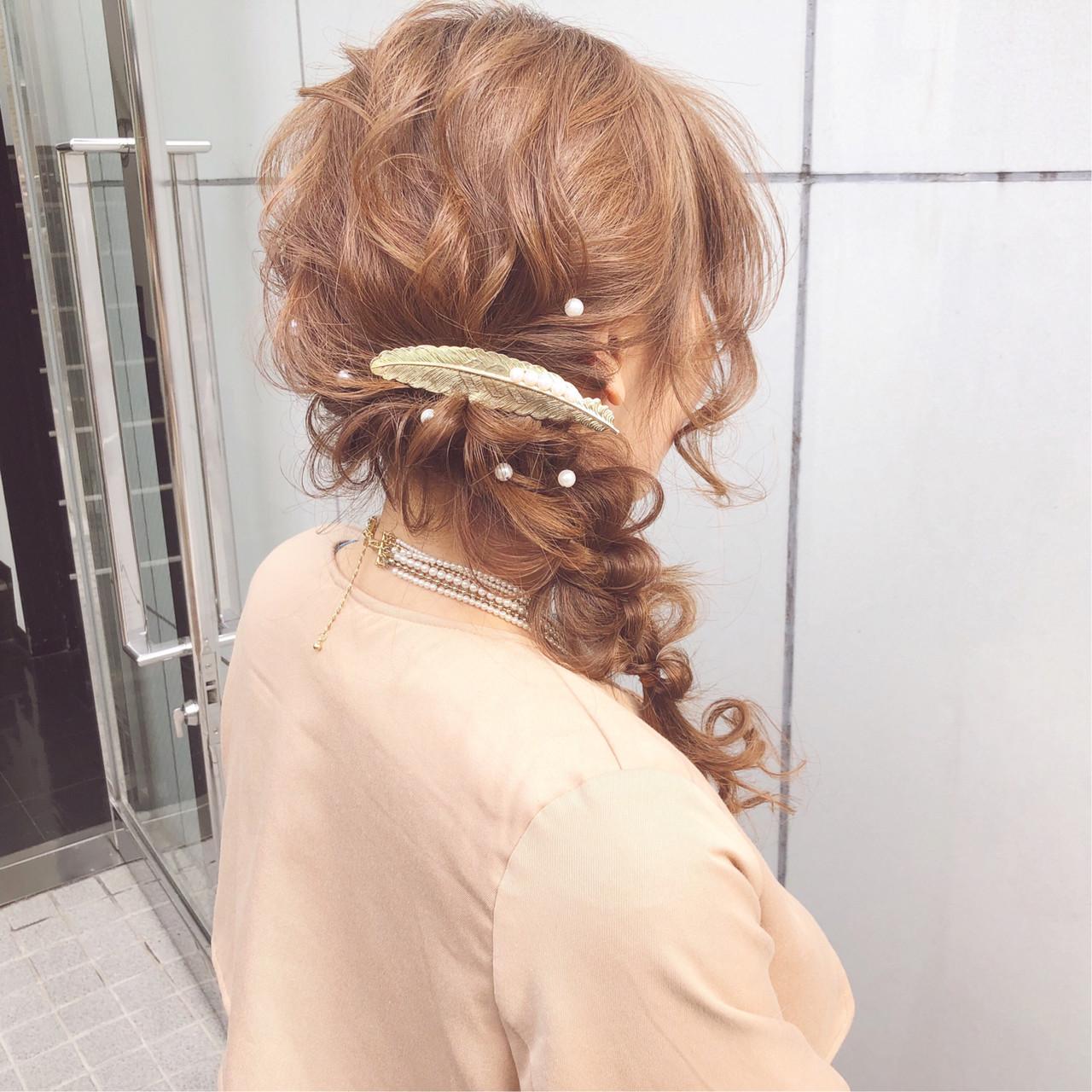 結婚式 大人かわいい デート ナチュラル ヘアスタイルや髪型の写真・画像   『ボブ美容師』永田邦彦 表参道 / send by HAIR