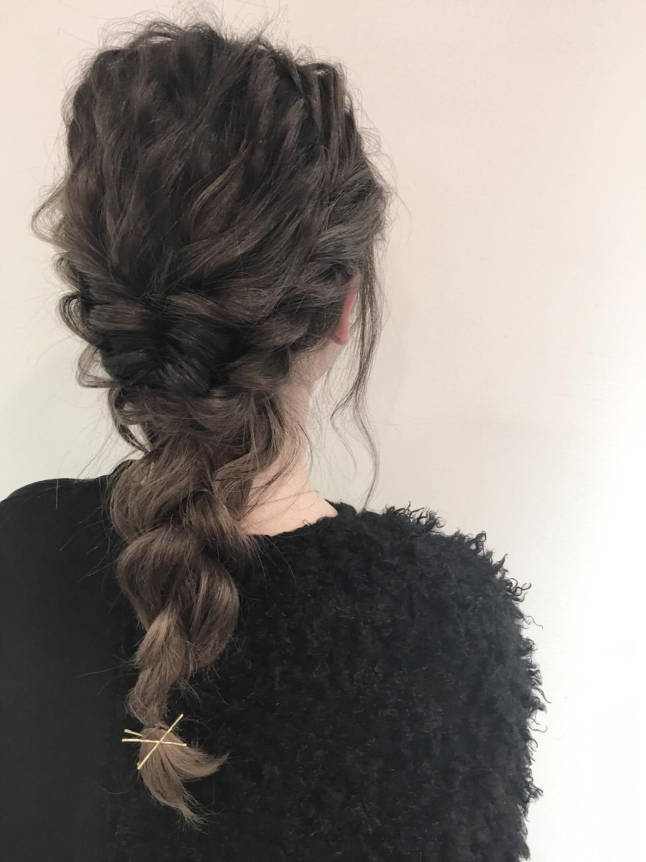ロング 結婚式 デート ヘアアレンジ ヘアスタイルや髪型の写真・画像 | 北村 亮 / Lano by HAIR