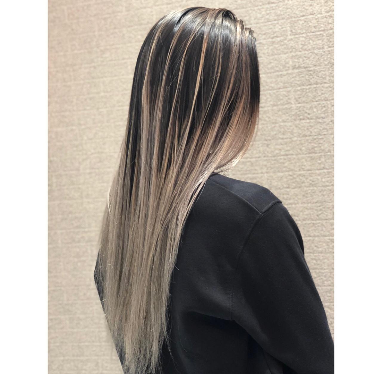 成人式 デート 外国人風 セミロング ヘアスタイルや髪型の写真・画像
