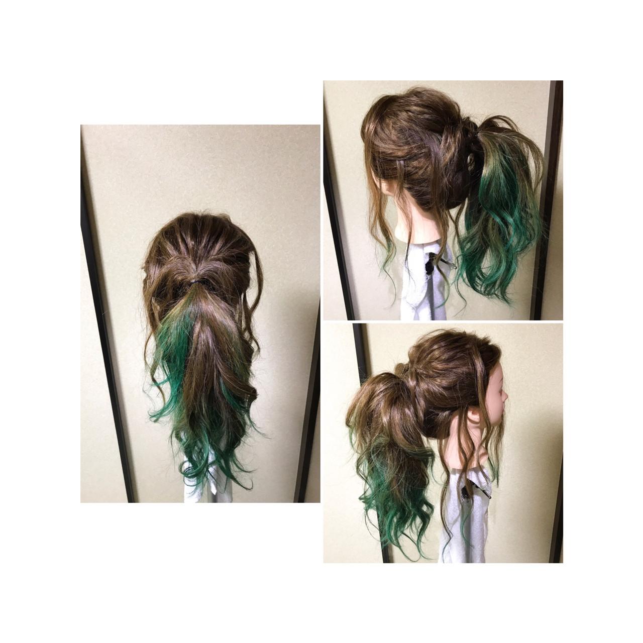 編み込み ヘアアレンジ ゆるふわ フェミニン ヘアスタイルや髪型の写真・画像