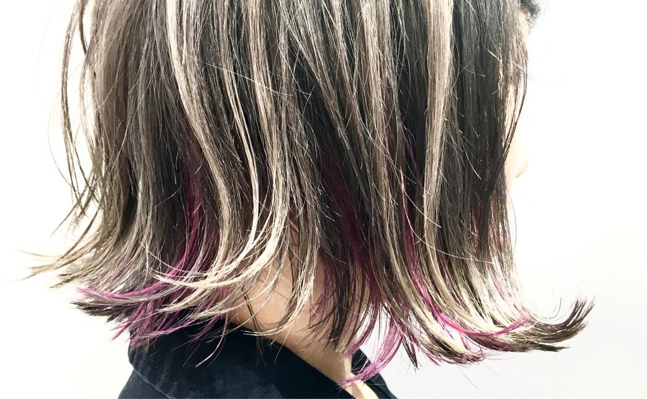 暗髪 ハイライト 外国人風 グラデーションカラー ヘアスタイルや髪型の写真・画像 | greenstudio寺田和真 / greenSTUDIO (グリーン スタジオ)