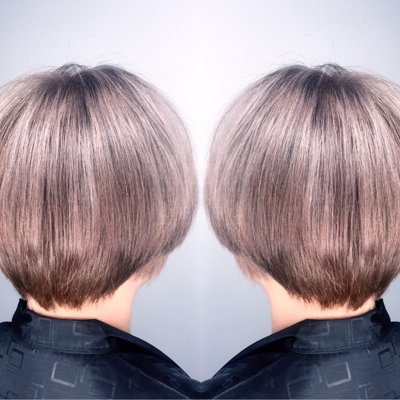 ハイライト モード ブリーチ ショート ヘアスタイルや髪型の写真・画像