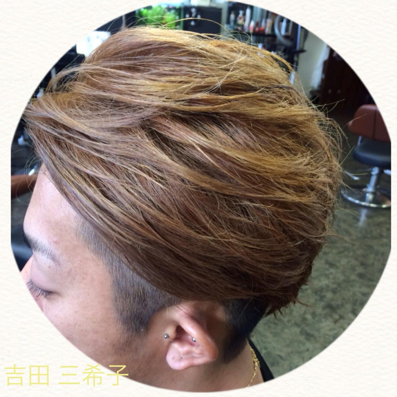外国人風カラー アッシュ ストリート ブリーチ ヘアスタイルや髪型の写真・画像