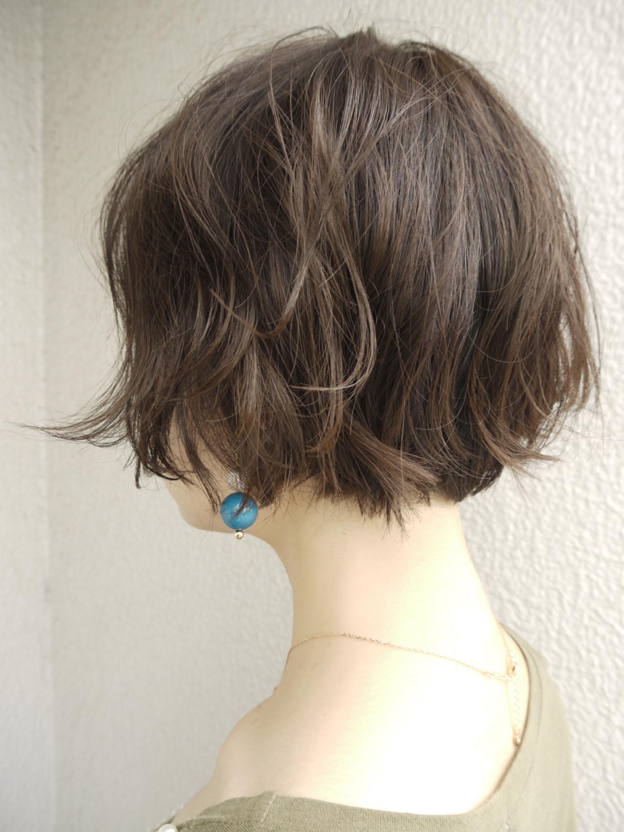 ゆるふわ 女子力 大人かわいい ショート ヘアスタイルや髪型の写真・画像 | ムラマツ タケシ【morio原宿/成増】 / morio flom London