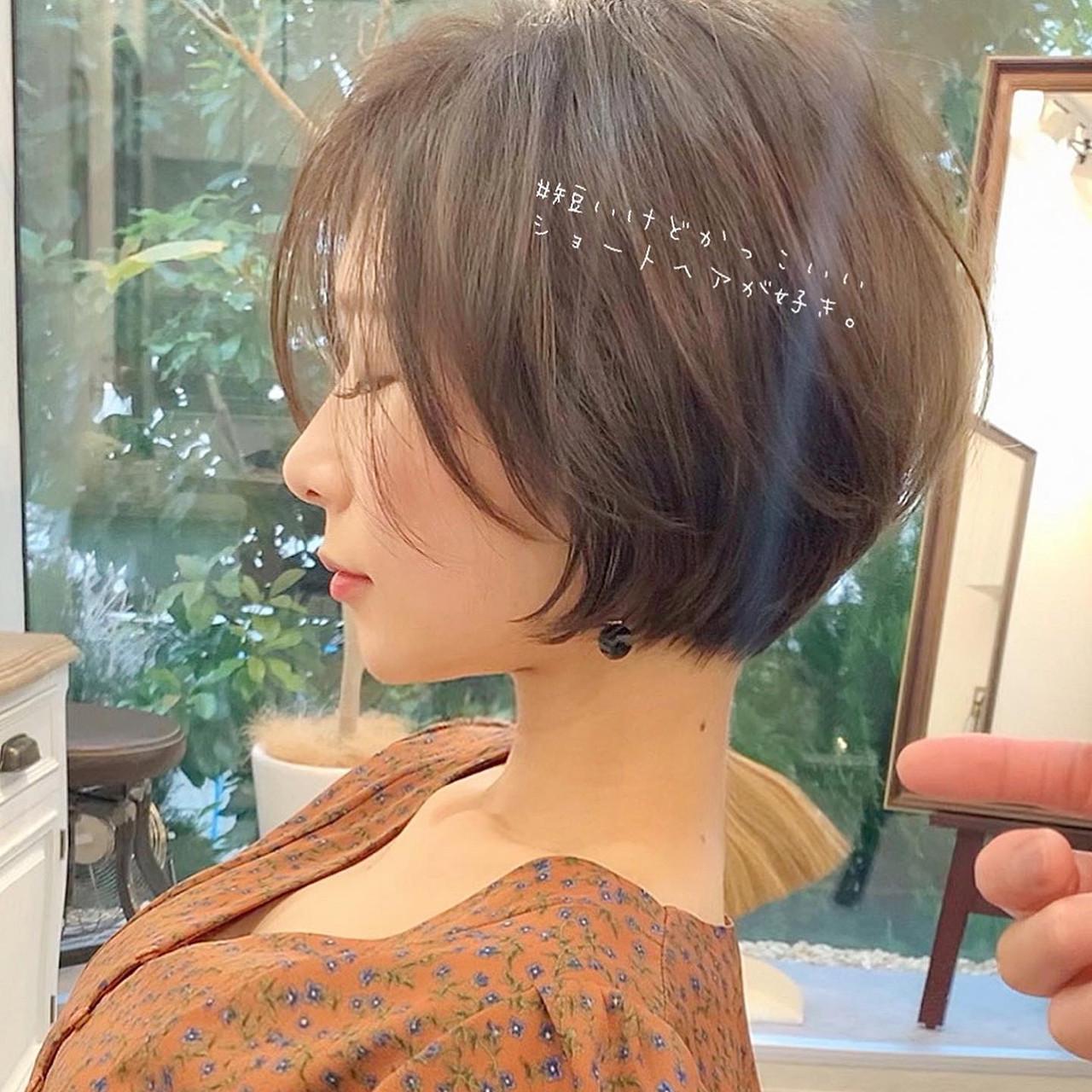 ナチュラル ショートボブ ミニボブ ショート ヘアスタイルや髪型の写真・画像   ショートボブの匠【 山内大成 】『i.hair』 / 『 i. 』 omotesando