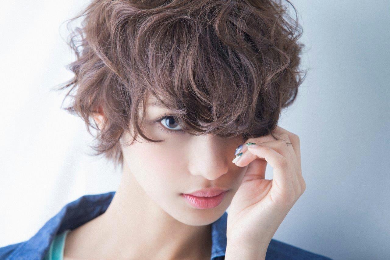 ショート 外国人風 ハイライト ゆるふわ ヘアスタイルや髪型の写真・画像 | 大平泰憲 / Unmillime