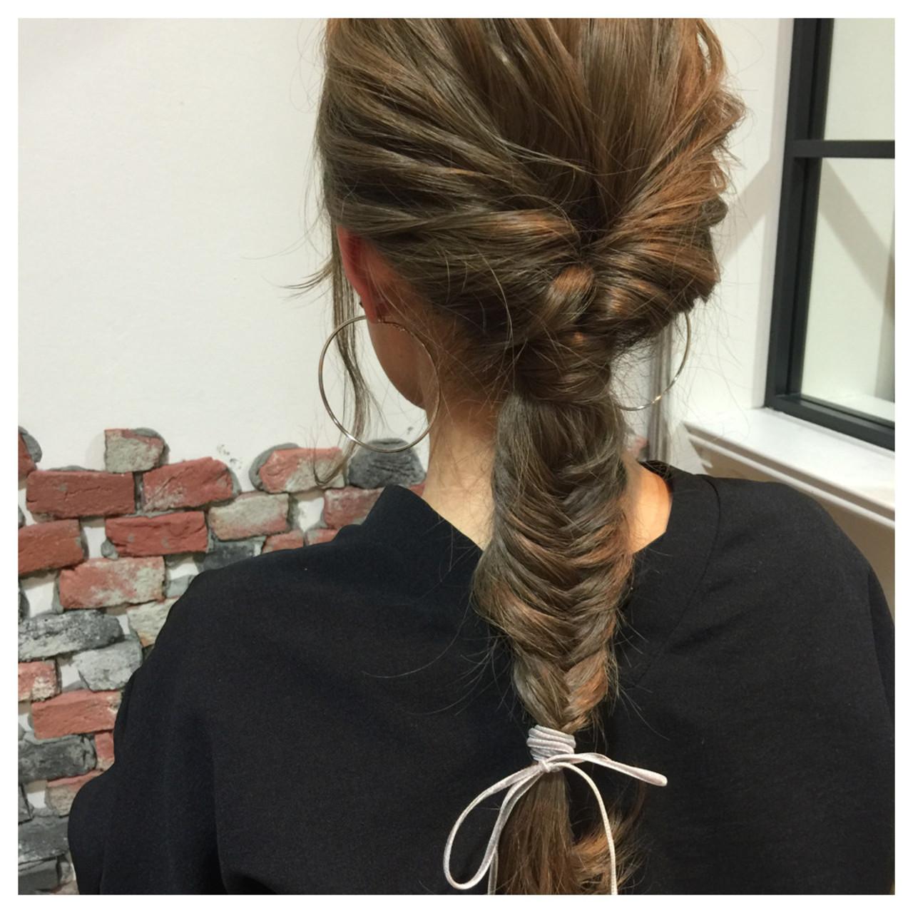 ショート ヘアアレンジ ブリーチ 簡単ヘアアレンジ ヘアスタイルや髪型の写真・画像