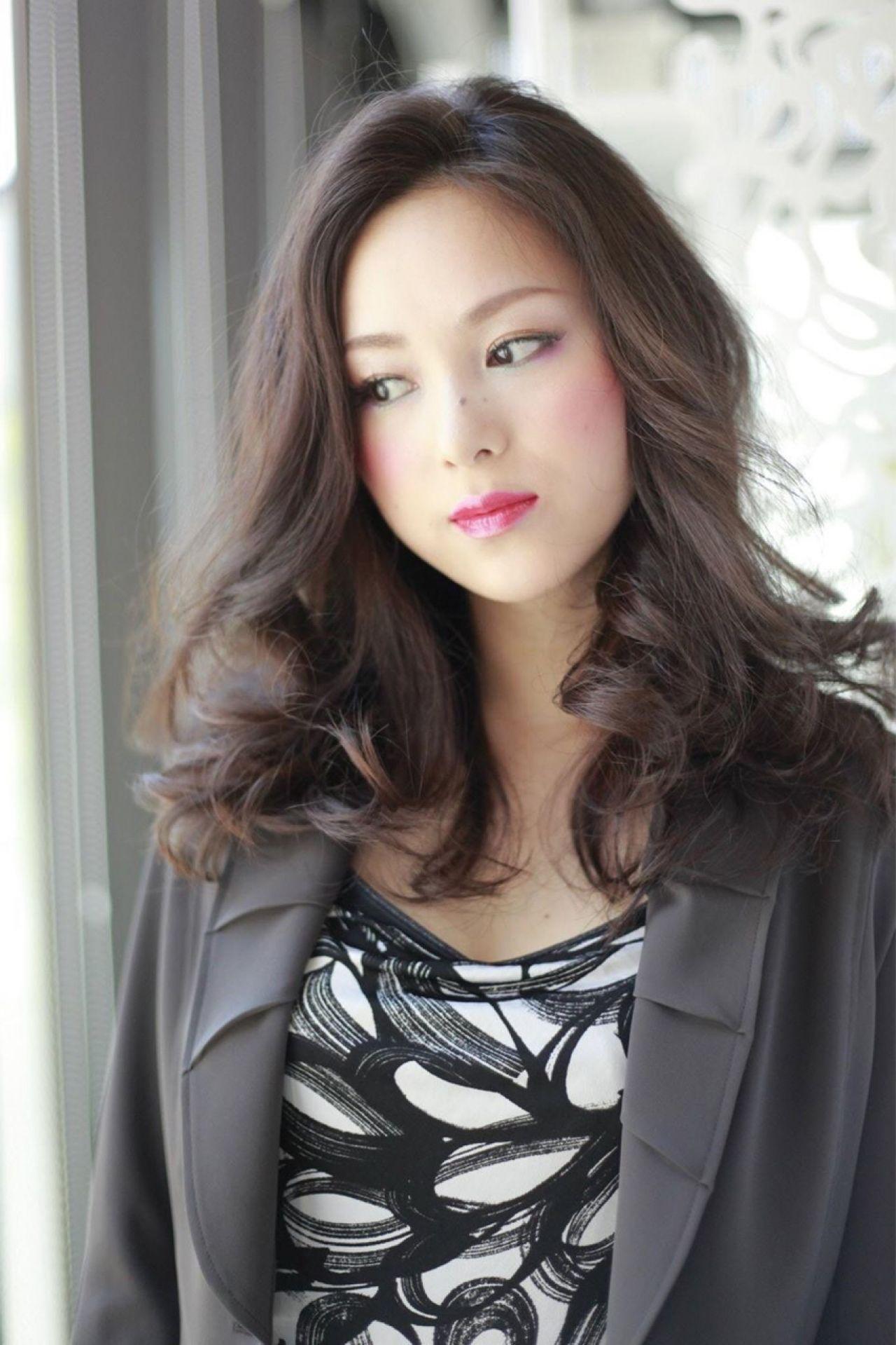 抜け感 かっこいい グラマラス モード ヘアスタイルや髪型の写真・画像