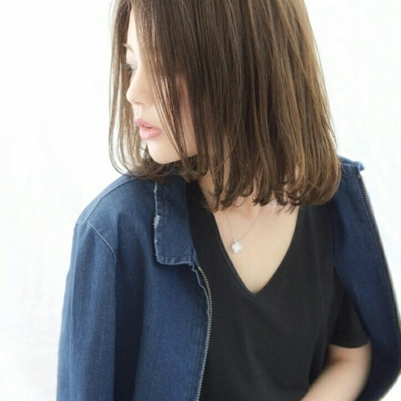 外国人風 フェミニン 大人かわいい ボブ ヘアスタイルや髪型の写真・画像