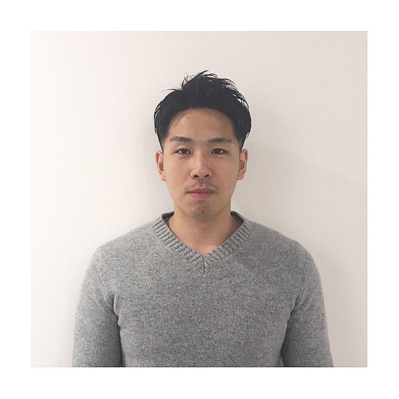 コンサバ メンズヘア ショート メンズショート ヘアスタイルや髪型の写真・画像