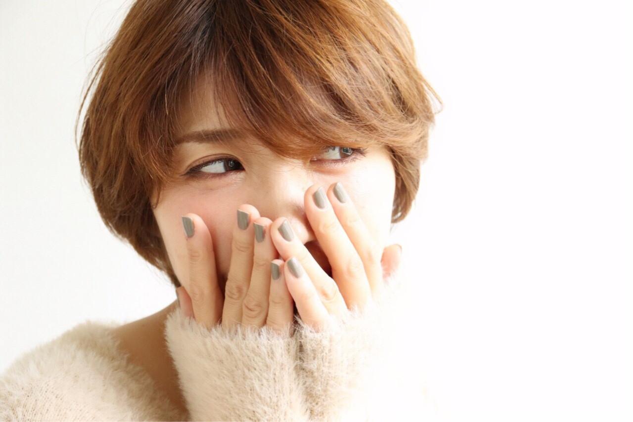 大人女子 こなれ感 ナチュラル うざバング ヘアスタイルや髪型の写真・画像   yuunn /