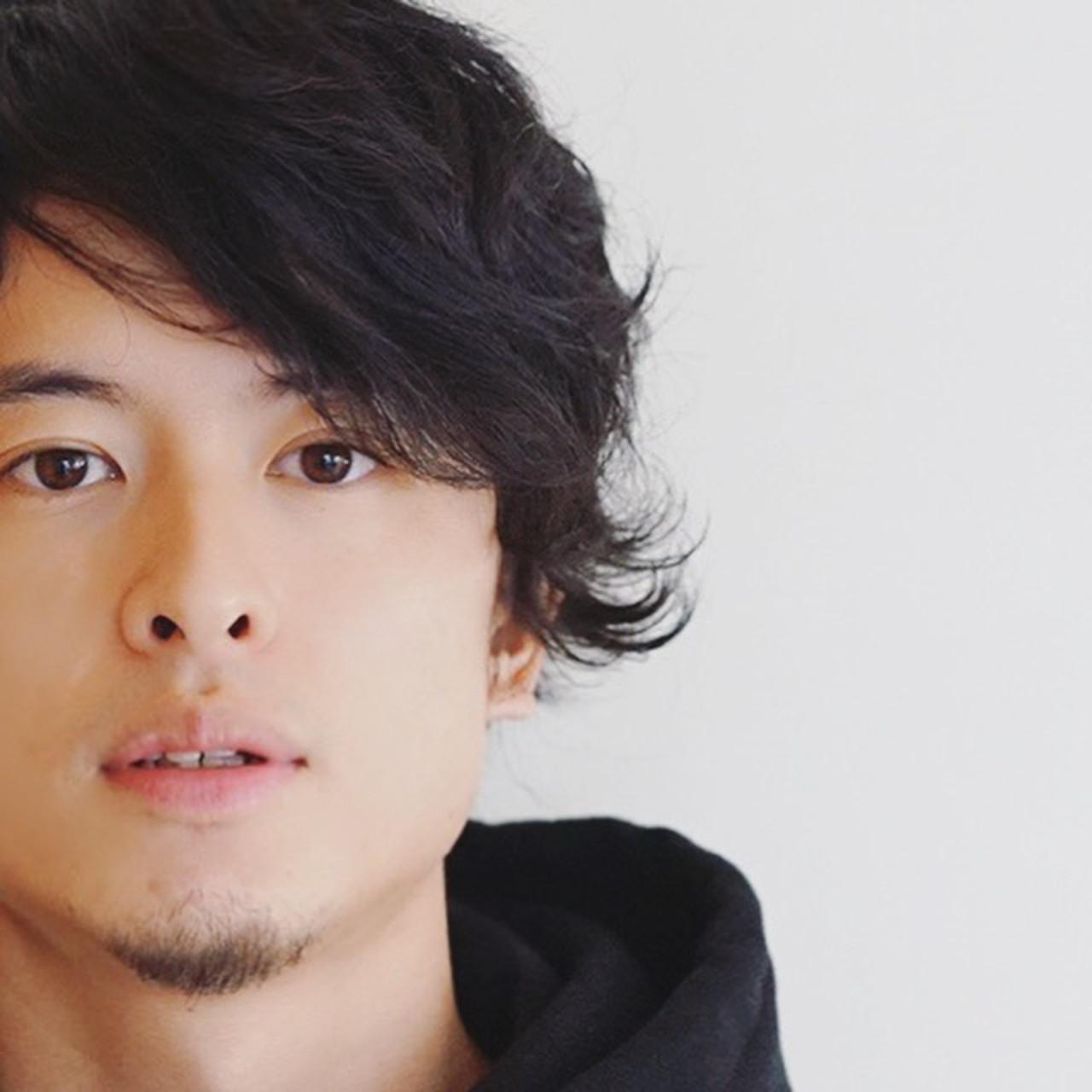 メンズ パーマ ナチュラル ゆるふわパーマ ヘアスタイルや髪型の写真・画像   Tadao Shimodaira/FLOW / FLOW aoyama