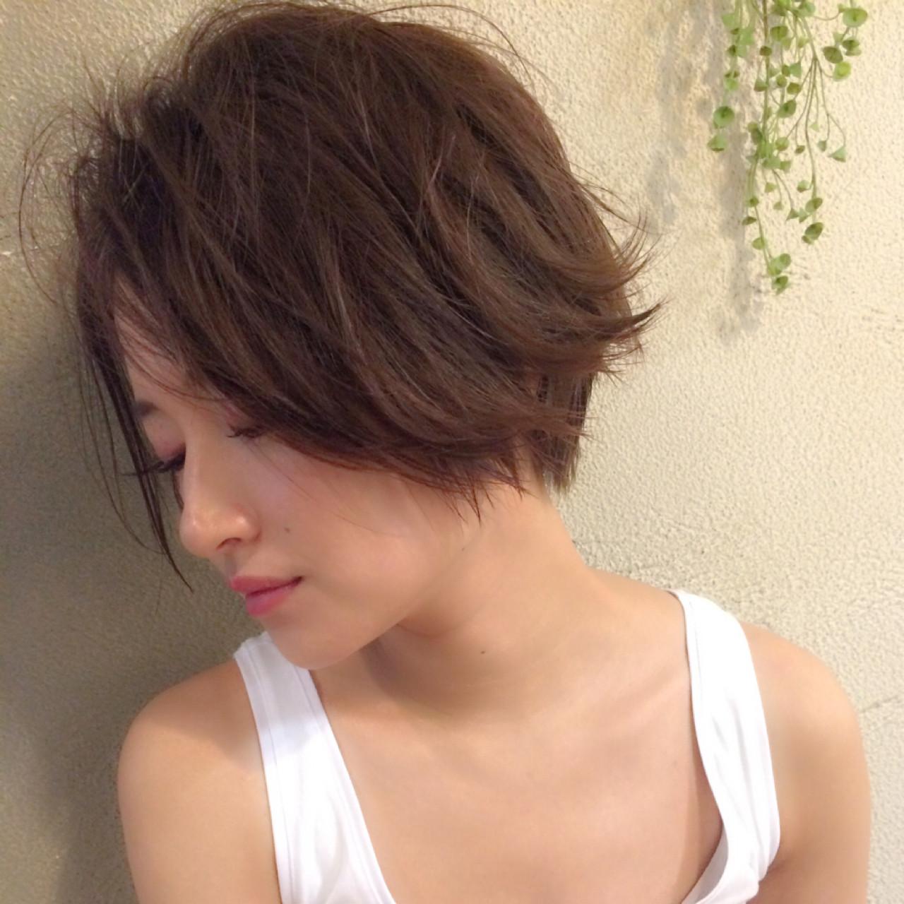 こなれ感 ボブ ストリート くせ毛風 ヘアスタイルや髪型の写真・画像 | ボブで人気‼️ 増永 剛大/Un ami / Un ami omotesando