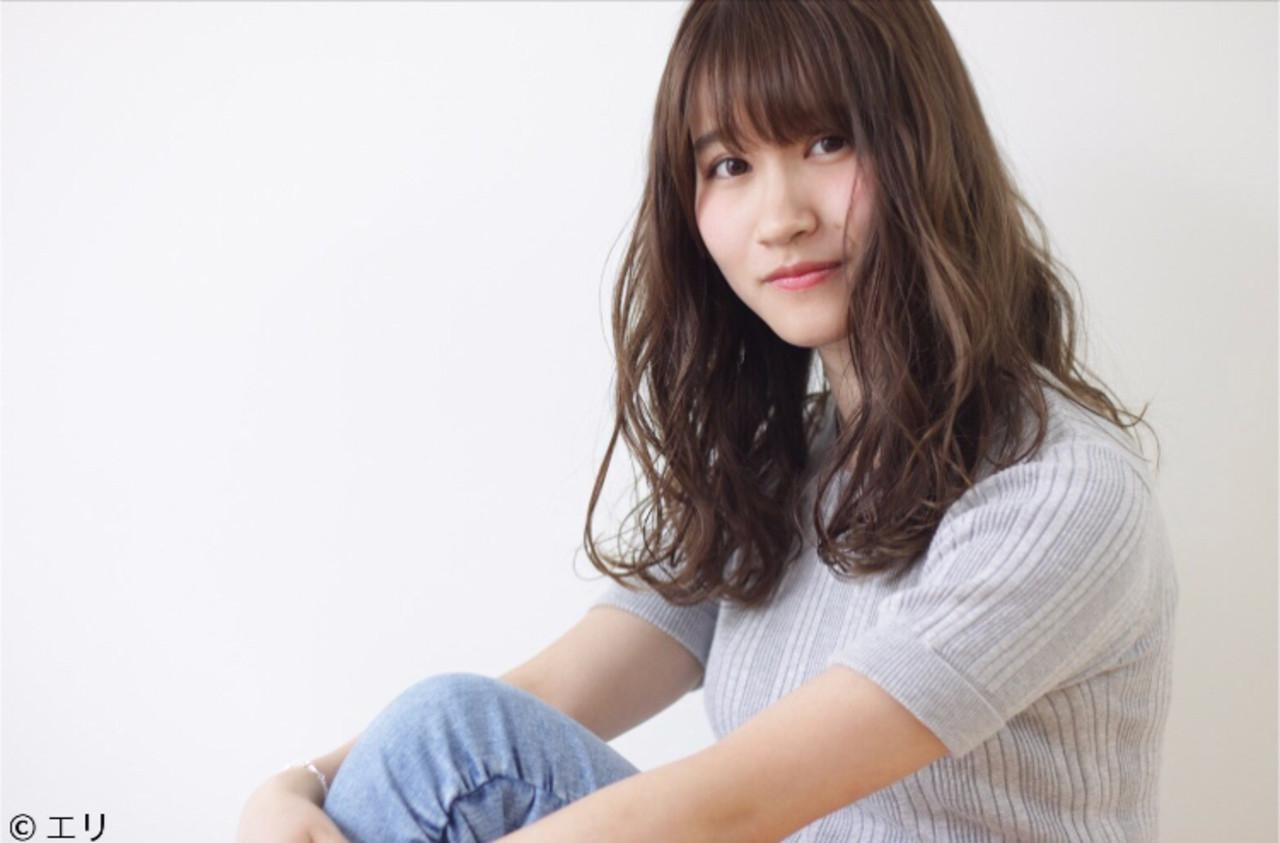 ヘアオイル デート 簡単ヘアアレンジ 黒髪 ヘアスタイルや髪型の写真・画像 | 山川エリ /