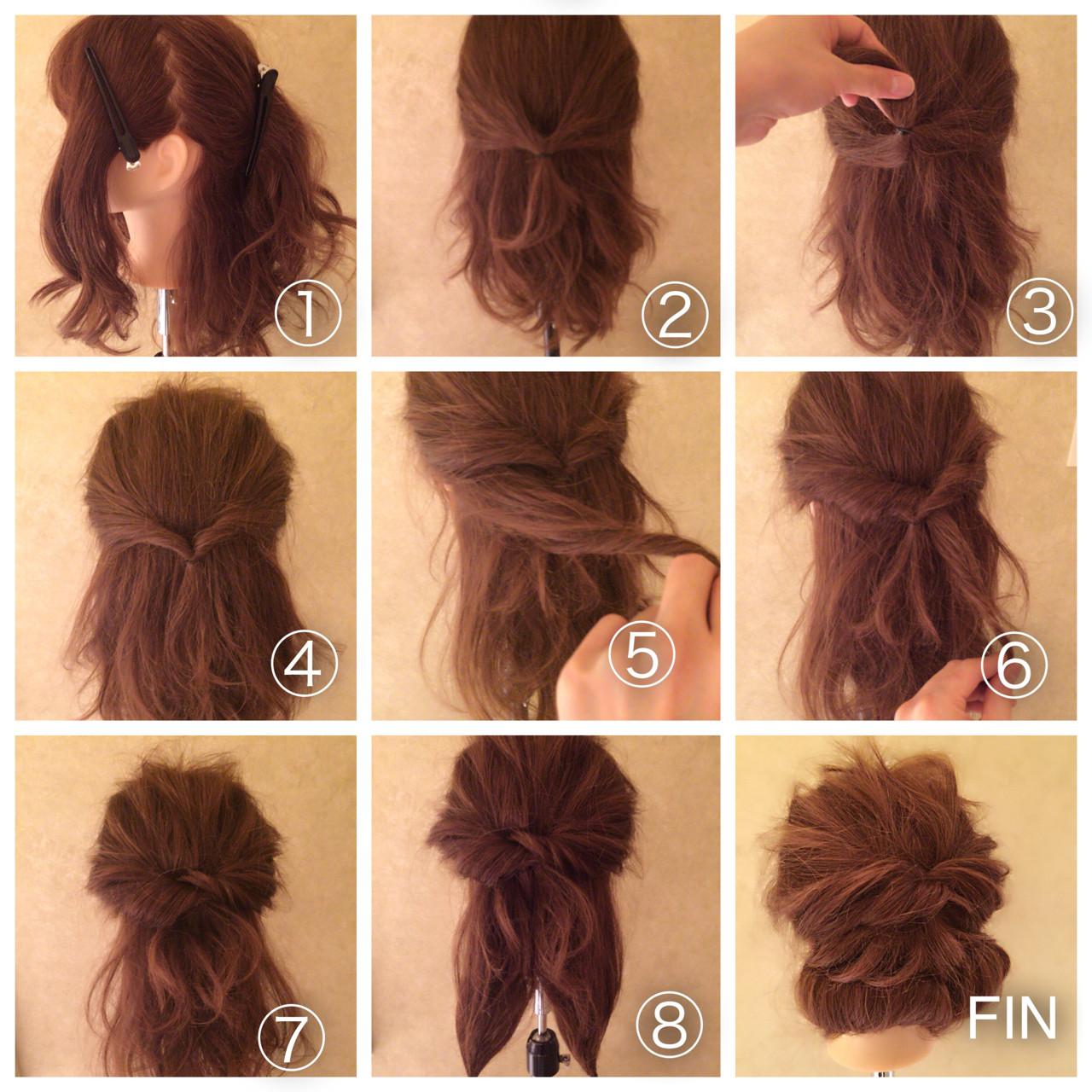 くるりんぱ ショート ロング アップスタイル ヘアスタイルや髪型の写真・画像 | Tierra / 町田雄一 / Tierra harajuku