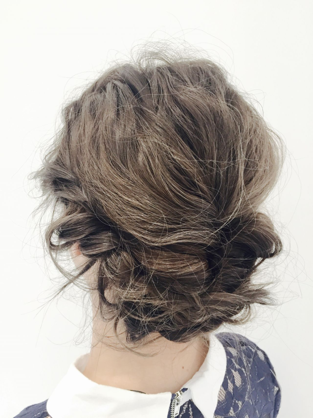 ゆるふわ モテ髪 くるりんぱ 愛され ヘアスタイルや髪型の写真・画像