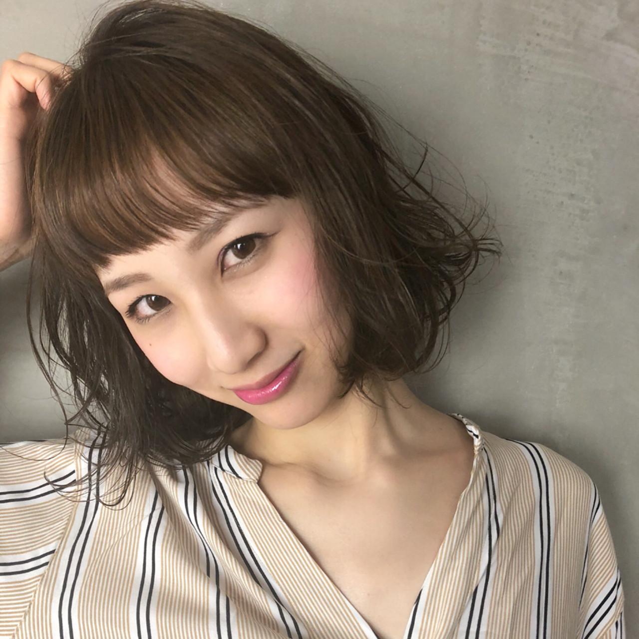 ゆるふわ アッシュ 外国人風カラー 無造作 ヘアスタイルや髪型の写真・画像 | Ninomiya Takashi / Grege