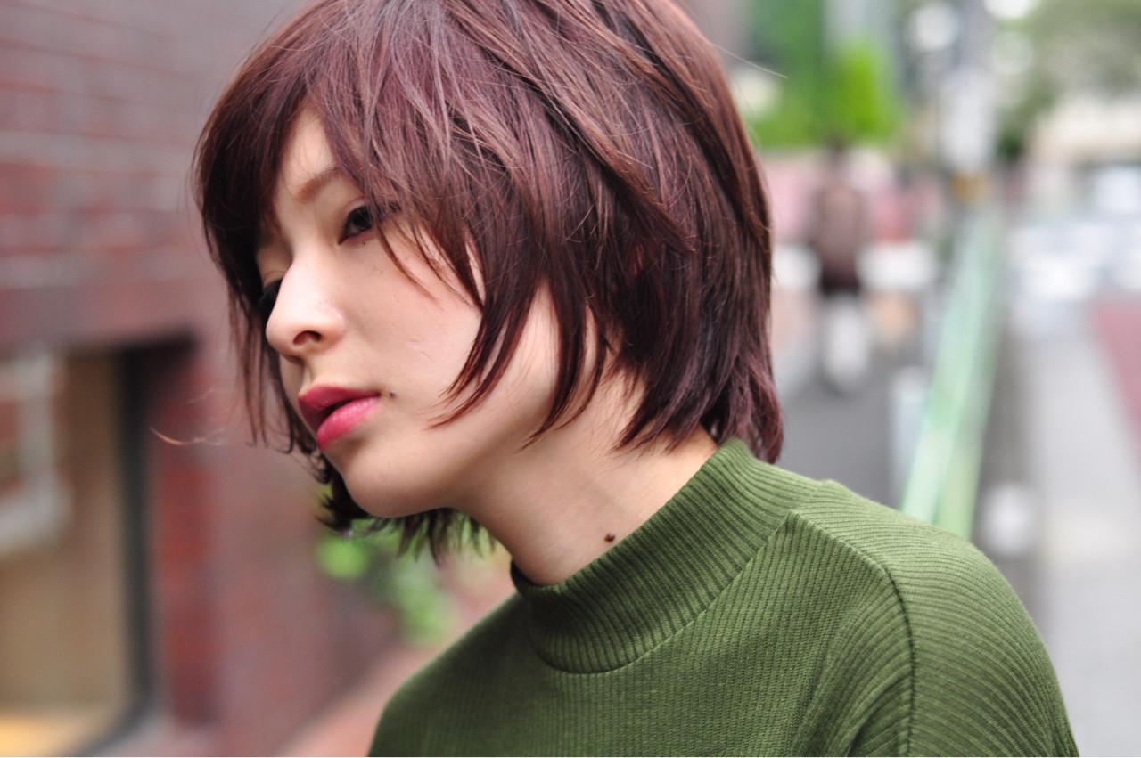 ショート ストリート ヘアメイク ヘアスタイルや髪型の写真・画像