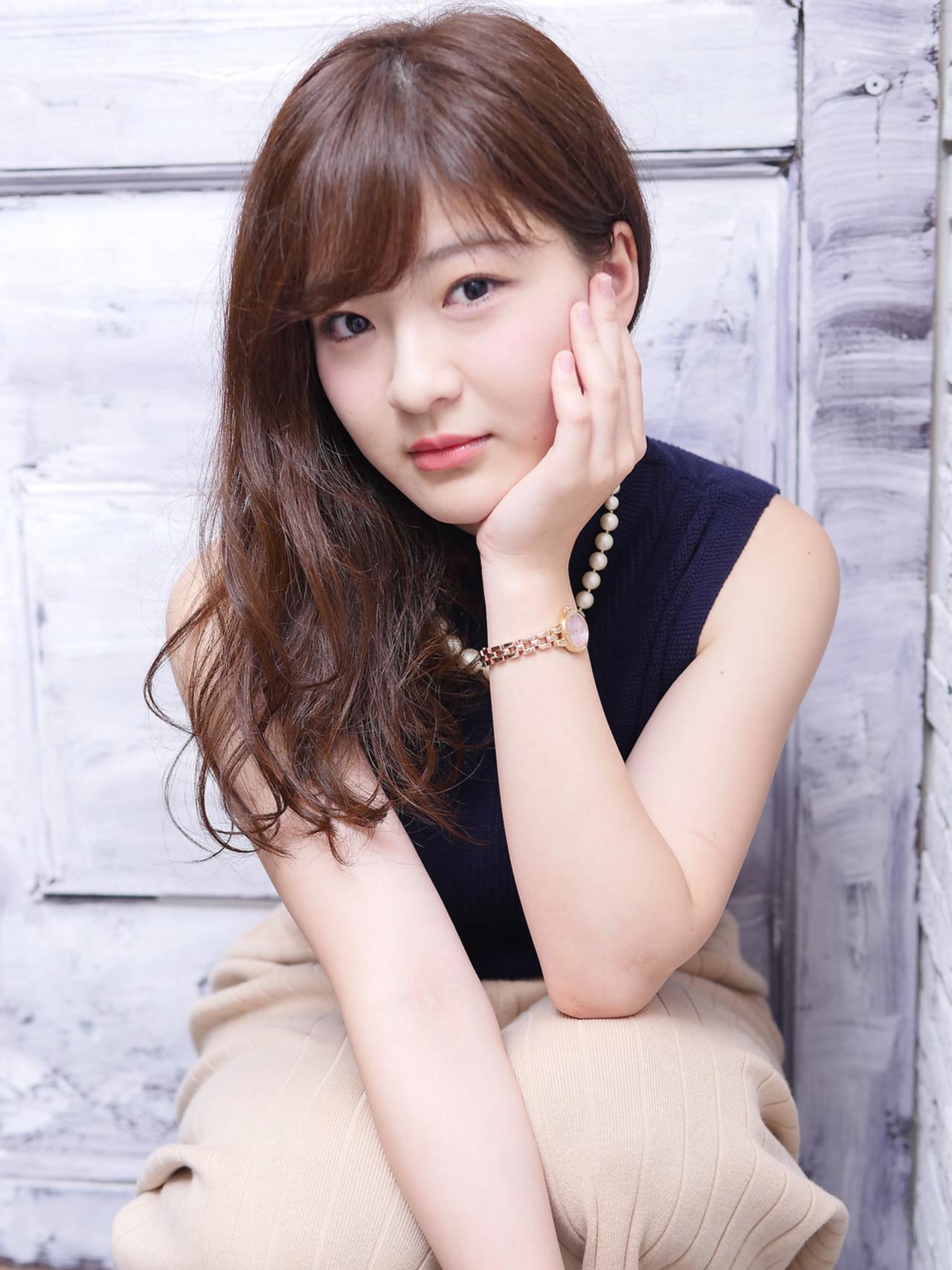 秋 ガーリー 大人女子 コンサバ ヘアスタイルや髪型の写真・画像