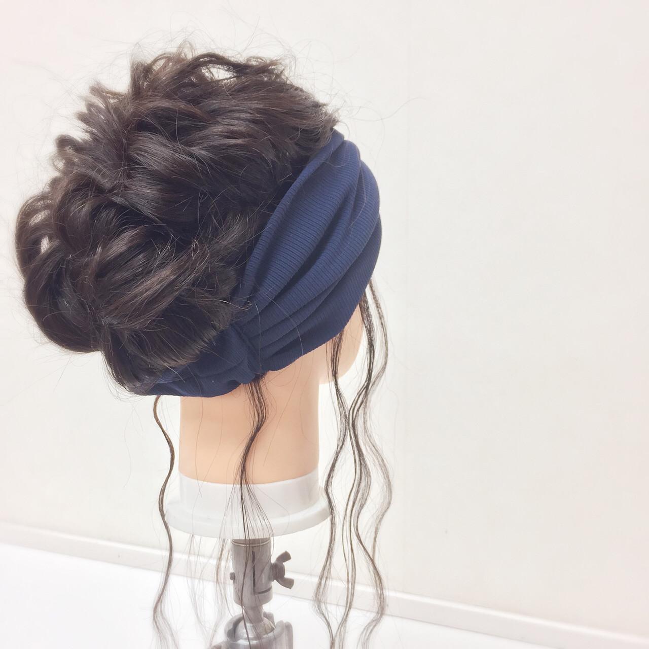 三つ編み ヘアアクセ ヘアアレンジ ロング ヘアスタイルや髪型の写真・画像