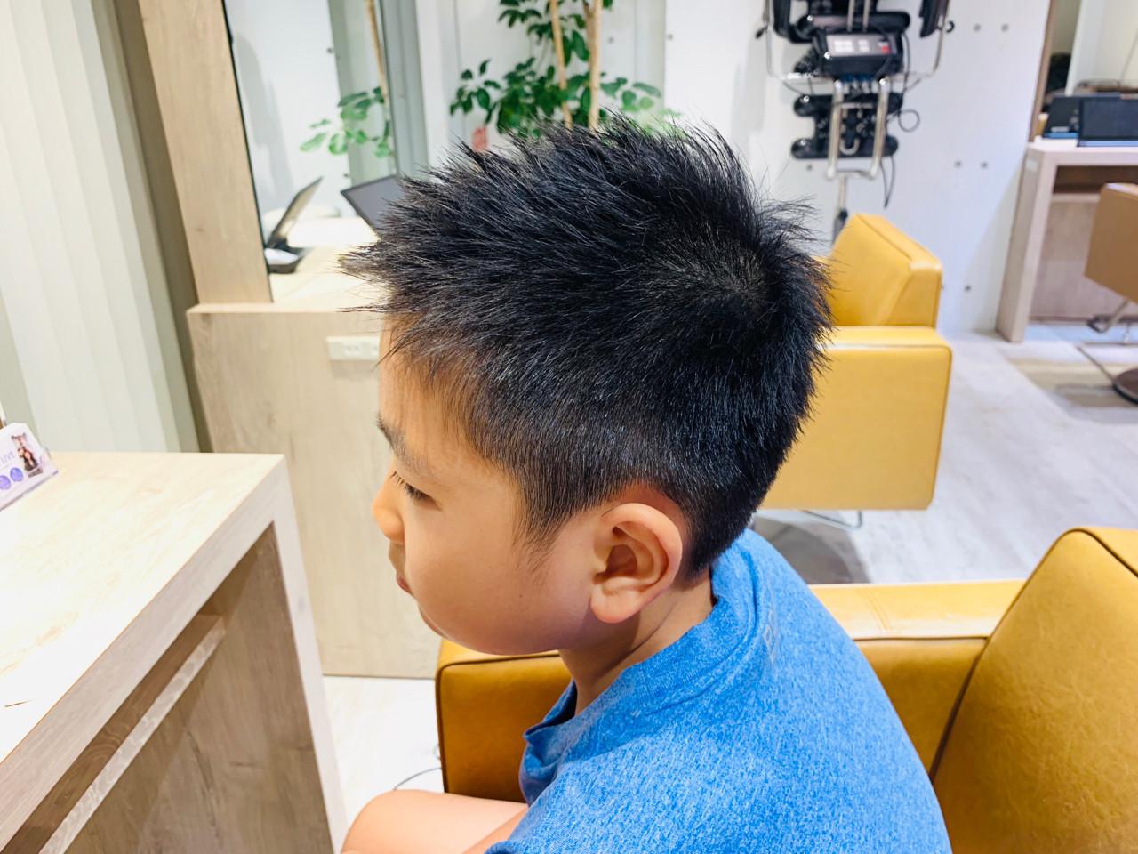 ナチュラル 子供 ショート ヘアスタイルや髪型の写真・画像