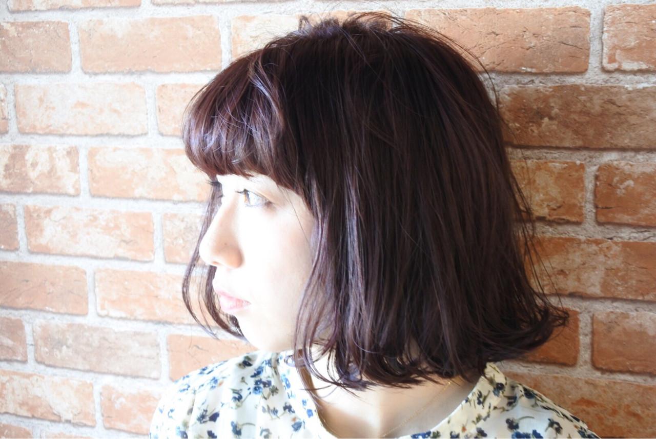 パープル 色気 ストリート アッシュ ヘアスタイルや髪型の写真・画像   中川雄貴 / hair salon Ciel