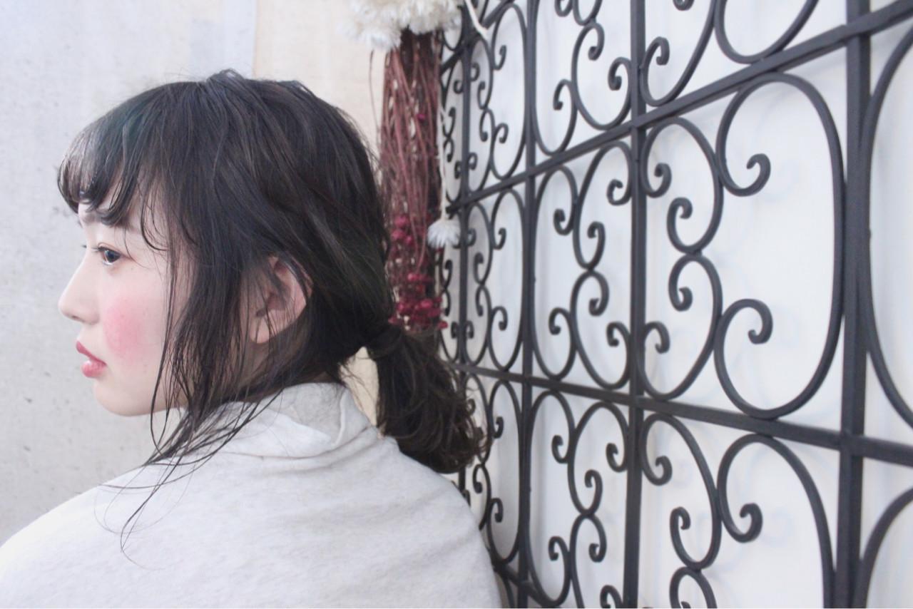 外国人風 簡単ヘアアレンジ アンニュイ 秋 ヘアスタイルや髪型の写真・画像   上田智久 / ooit 福岡 天神 / ooit