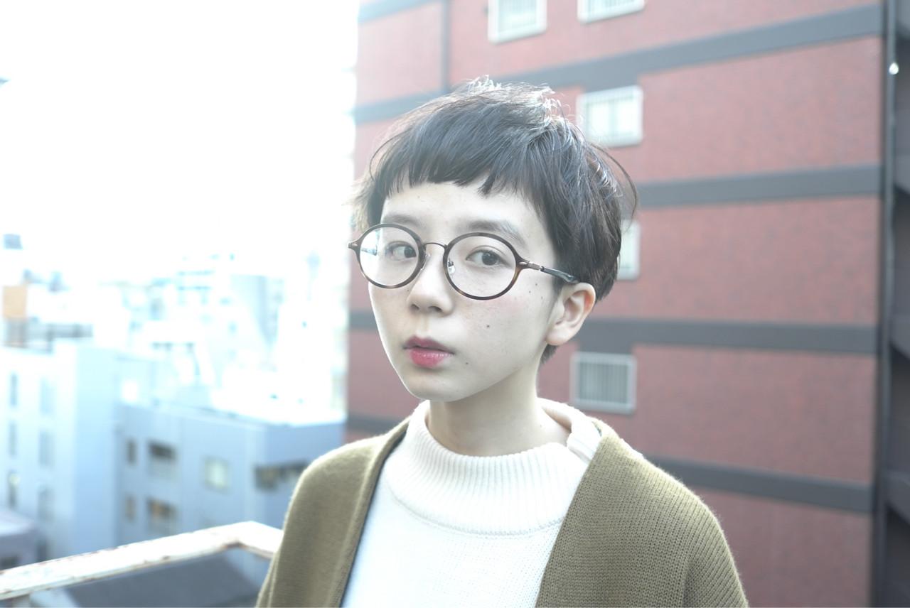 暗髪 小顔 大人女子 アッシュ ヘアスタイルや髪型の写真・画像 | 西尾 隆介 / Labyrinth
