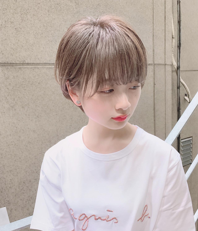 ヘアアレンジ ショート オフィス ナチュラル ヘアスタイルや髪型の写真・画像 | 阿比留 奨太 【sand】 / sand omotesando
