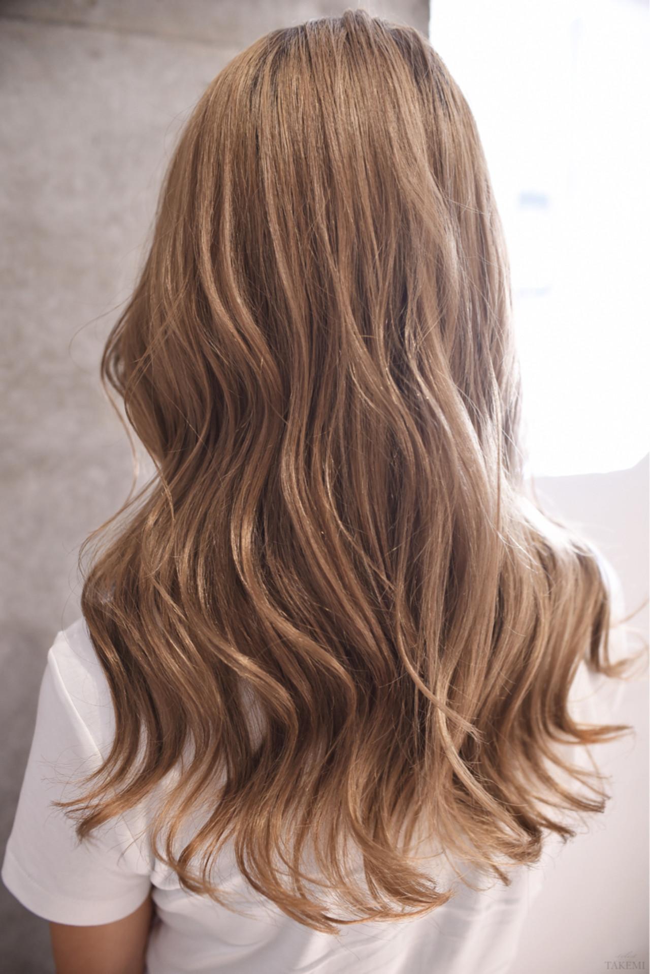 グラデーションカラー ハイライト ガーリー ダブルカラー ヘアスタイルや髪型の写真・画像