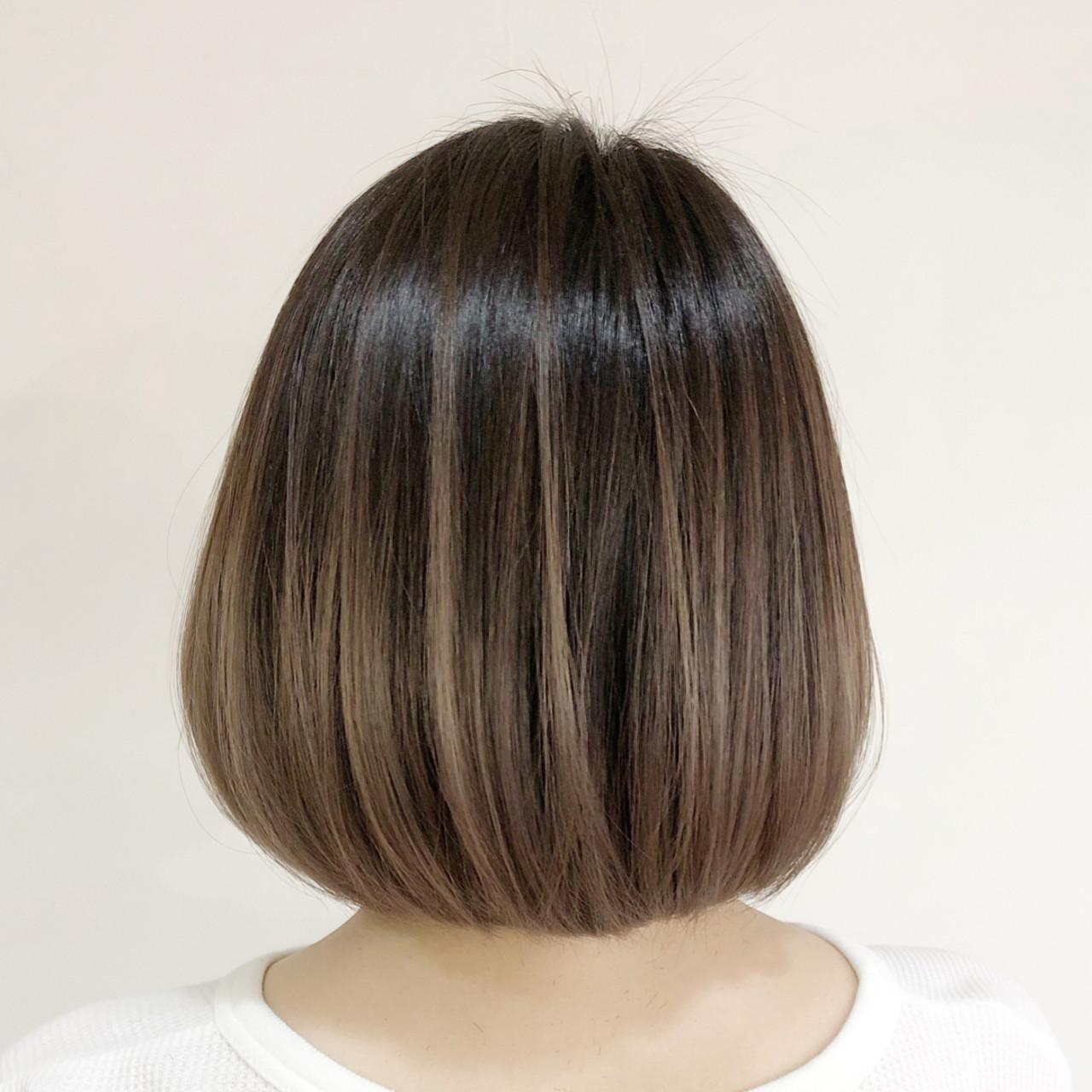 コントラストハイライト フェミニン ブリーチ 外国人風カラー ヘアスタイルや髪型の写真・画像