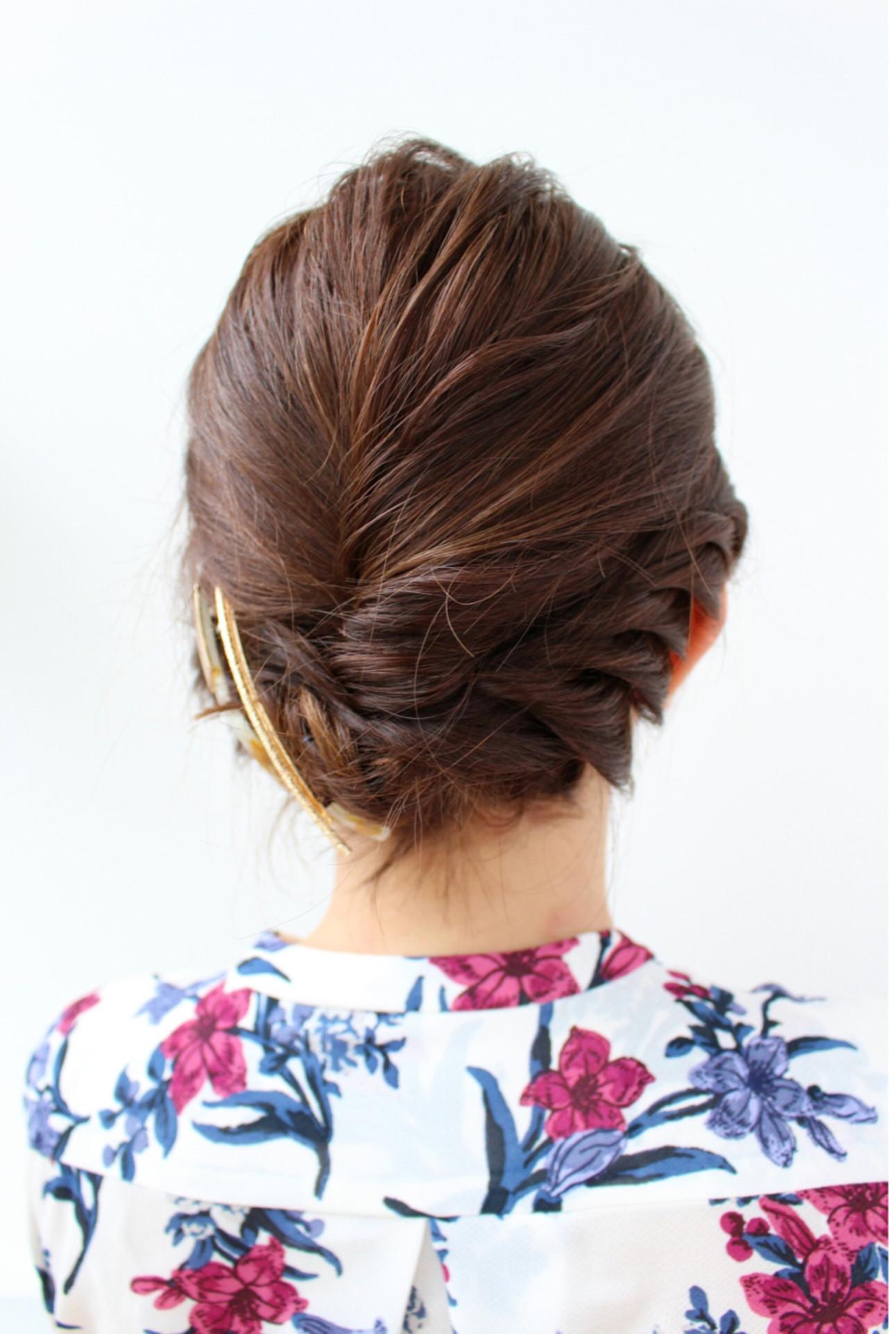 ヘアアレンジ ボブ 結婚式 エレガント ヘアスタイルや髪型の写真・画像 | 三上 奈巳 / Spin hair 烏丸店