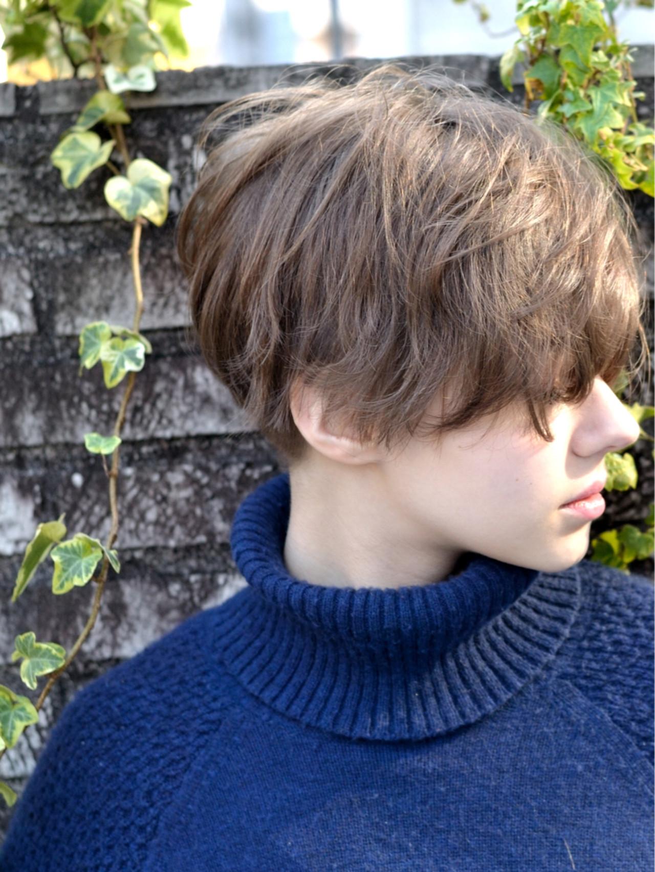 外国人風 アッシュ マッシュ ショート ヘアスタイルや髪型の写真・画像 | 常盤 大地 ウミトス / ウミトス表参道