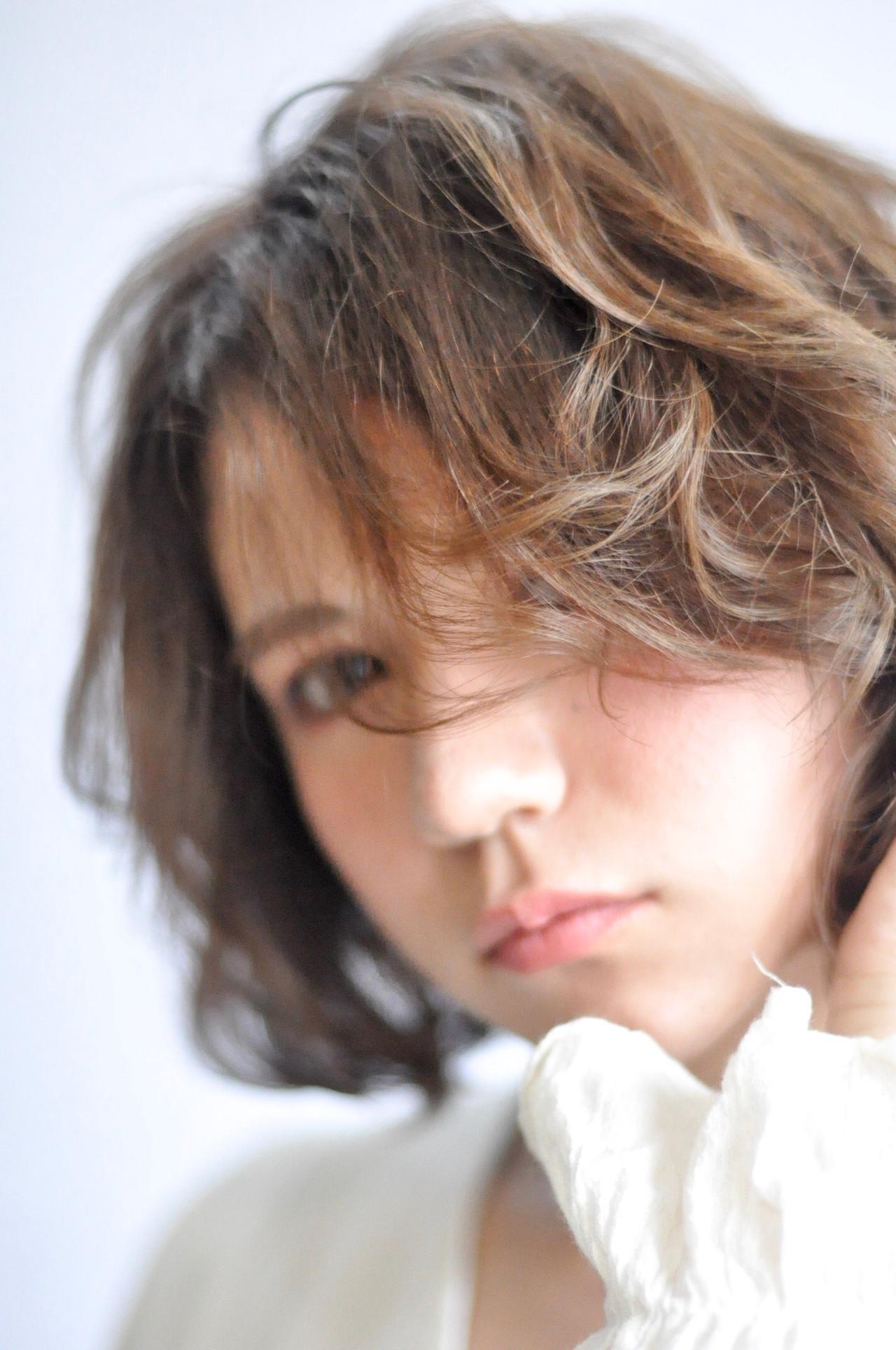 可愛い パーマ  簡単ヘアアレンジ ヘアスタイルや髪型の写真・画像 | 野口秀人【piéce201】代表 / piece201